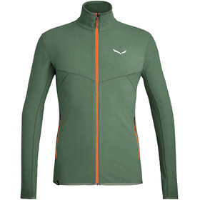 SALEWA *Plose 5 Pl Full Zip Jacket Men, duck green